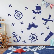 Pirate Decals Boy Wall Decor Pirate Stickers Db108 Designedbeginnings