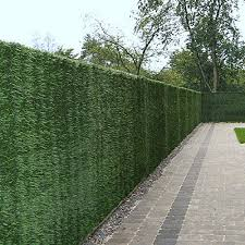 Artificial Conifer Leaf Hedge Roll Screening Privacy Screen Garden Fence 2m X 3m West Derby Carpets