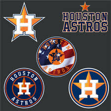 Houston Astros Baseball Car Window Wall Decal Sticker 5 10 15 20 30 40 50 Other Sporting Goods