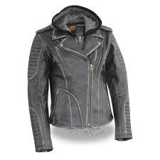 women s leather biker jacket milwaukee