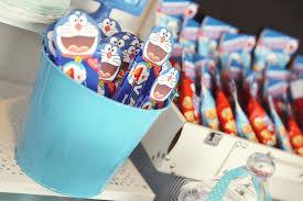 Doraemon Theme Oreo Cookies Fiesta Cumpleanos Doraemon Cumpleanos