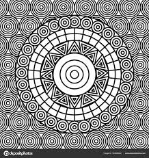 Abstracte Volwassen Kleurplaten Kunst Stockvector C Yupiramos
