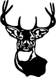 Deer Head Hunting Buck Wall Decal Home Decor Large 20 X 15 Ebay