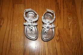 toddler size 5 1 2 white sandals