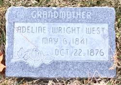 Adeline Amanda Wright West (1841-1876) - Find A Grave Memorial