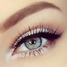 prom makeup ideas for blue eyes cat