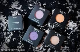review kiko milano water eyeshadow