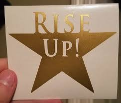 Car Decal Hamilton Musical Theatre Rise Up Vinyl Laptop Sticker By Humaniteasestudio On Etsy Hamilton Stickers Hamilton Musical Laptop Stickers