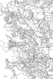 Kleurplaten En Zo Kleurplaten Van Avengers