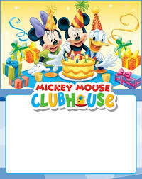 Free Printable Mickey Mouse Clubhouse Invitation Invitaciones De