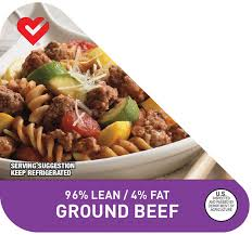 ground beef 96 lean 4 fat nutritional