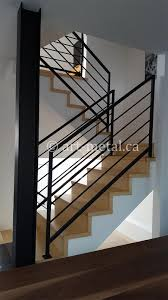 Interior Metal Stair Railing From The Best Contractor In Toronto