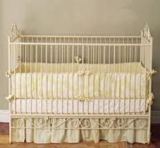 baby bedding in yellow toile for your