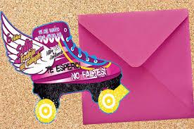 Invitaciones Infantiles Soy Luna Patin Cumpleanos 1 800 00 En