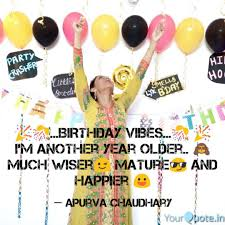 🎉🎊 birthday vibes � quotes writings by apurva