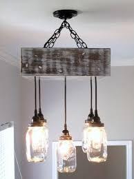 mason jar chandelier square ceiling