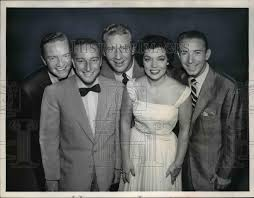 1957 Press Photo Garry Moore, Durward Kirby, Denise Lor, Ken ...