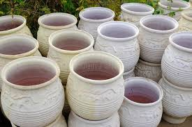 large terracotta garden pots or urns