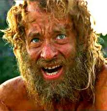 Tom Hanks as Chuck Noland - Castaway | Fave Movies in 2019 | Love ...