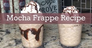 copycat mocha frappe recipe copycat