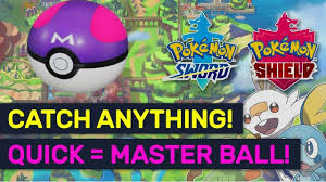 Pokemon Sword Shield Master Balls x5 x10 x20 x30 x50 x100 + Square ...