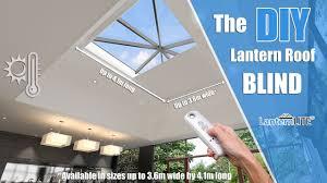 diy electric roof lantern blind