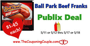 ball park beef franks 1 45 publix