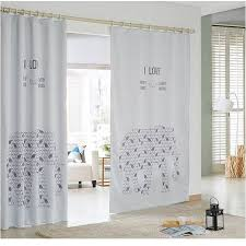 2015 New Kids Room Blackout Curtains For Children 3d White Elephant Cartoon 065 Curtains For Blackout Curtainscurtains For Children Aliexpress