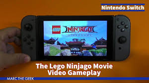 Nintendo Switch: The Lego Ninjago Movie Video Gameplay - YouTube