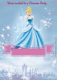 Free Princess Party Birthday Invitation Templates Invitaciones