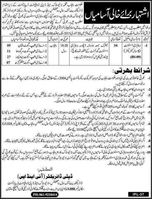 """Image result for Veterinary Assistant Jobs in Livestock and Dairy Development Department"""""""