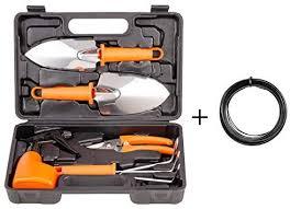 bnchi gardening tools set portable 6