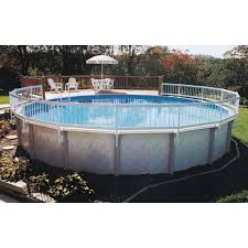Gli Pool Products Above Ground Pool Fence Add On Kit C 2 Sections Ne147 The Home Depot