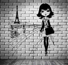Paris Wall Vinyl Decal Wallstickers4you