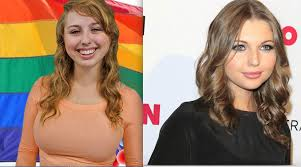 A chance to Speak: Sammi Hanratty and Laci Green look similar