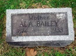 HOUGH BAILEY, ADA BROWN - Jefferson County, Iowa | ADA BROWN HOUGH BAILEY -  Iowa Gravestone Photos