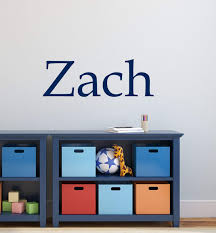 Amazon Com Boys Name Wall Decal Nursery Baby Boys Vinyl Wall Art Childrens Decals Personalized Wall Decal Kids Room Decals Playroom Decals Au31 Arts Crafts Sewing
