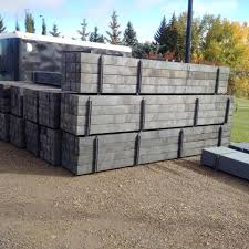 Plastic Composite Lumber Fencing Barriers Post Parking Curb Alternative Plastic Products