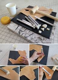 make cool leather belts and accessories