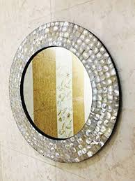 wall mirror bedroom mother of pearl