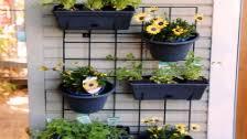 Whites Outdoor 250mm Petite Garden Up Wall Pot Bunnings Warehouse