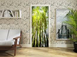 3d Sunshine Bamboo Forest Self Adhesive Living Room Door Murals Wall Stickers For Sale Online