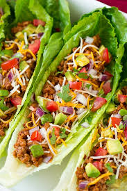 turkey taco lettuce wraps cooking cly