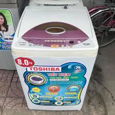 Máy giặt cũ Toshiba 8kg new 86%