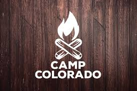Camp Colorado Campfire Car Decal Laptop Decal Window Etsy