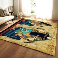 egypt style area rugs anti slip large