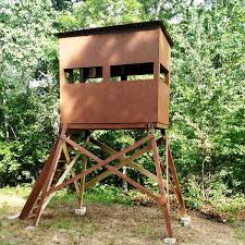 11 free deer stand plans in a variety