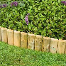 Tuin En Terras Pack Of 2 Garden Picket Fence Lawn Grass Edging Border Edging Panel Wallfence 1m Appcoug Org