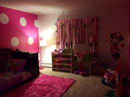 My Daughter S Minnie Mouse Inspired Room Minnie Mouse Bedroom Kids Bedroom Decor Small Girls Bedrooms