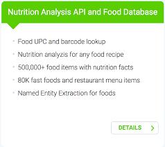 edamam introduces food database